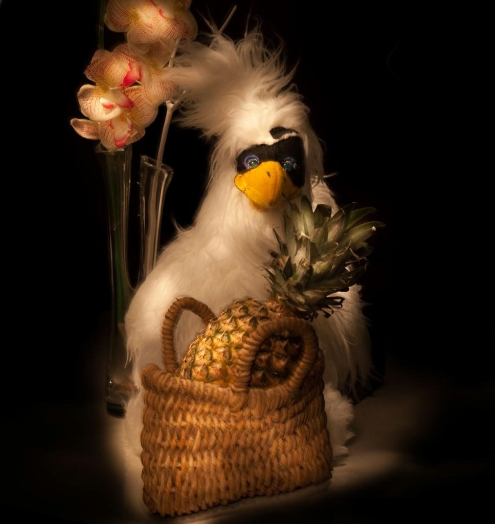 bargiglio e ananas fronte